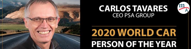 CarlosTavares, CEO del Grupo PSA persona del año 2020