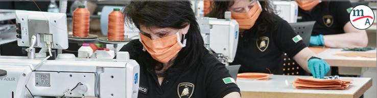 Lamborghini dejó la fabricación de super deportivos para fabricar máscaras quirúrgicas y escudos protectores