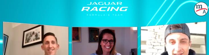 "Jaguar Racing publica el primer episodio de la nueva serie de video podcasts ""RE:CHARGE at Home"""