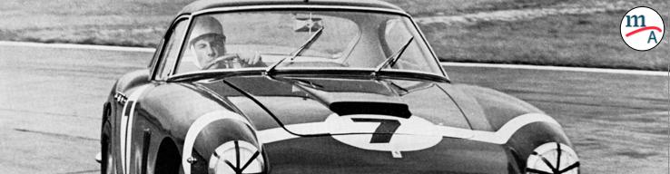 """Sir Stirling Moss """"uno de nuestros rivales más formidables en la pista"""", Ferrari"""