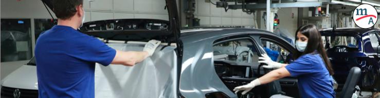 Volkswagen apoyará a sus 40,000 proveedores con instrucciones de protección sanitaria en la producción