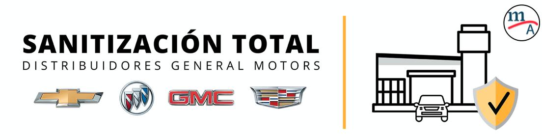 """""""Sanitización Total"""", programa de la Red de Distribuidores de General Motors"""