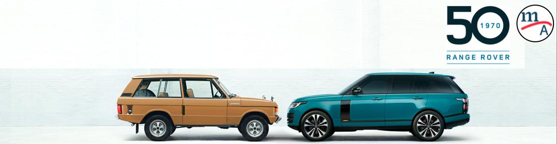 Range Rover cumple 50 años