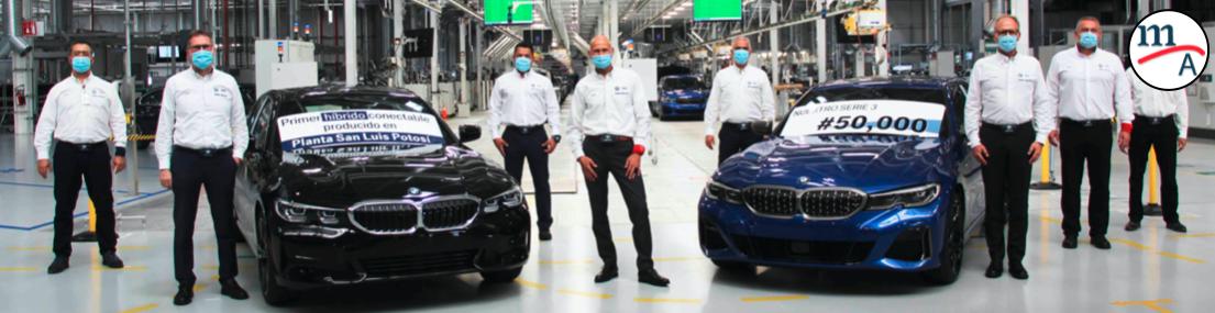 BMW Group Planta San Luis Potosí celebra la producción de 50 mil Serie 3