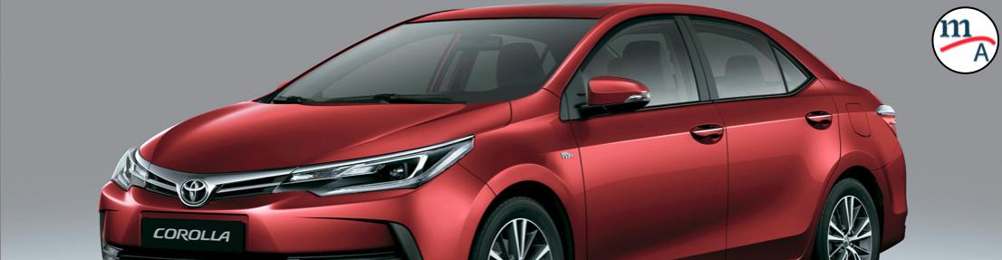 Llamado a revisión para 43,884 vehículos Toyota