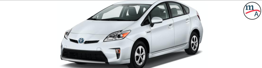 Llamado a revisión para 2,550 Toyota Prius