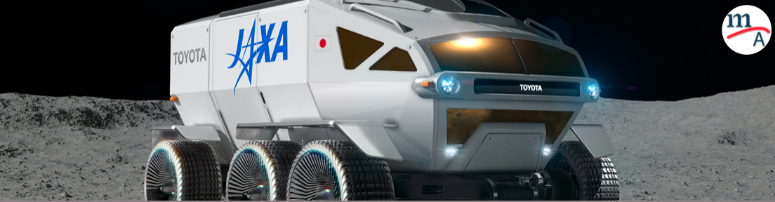 """LUNAR CRUISER"" el nombre del Rover lunar de Toyota"