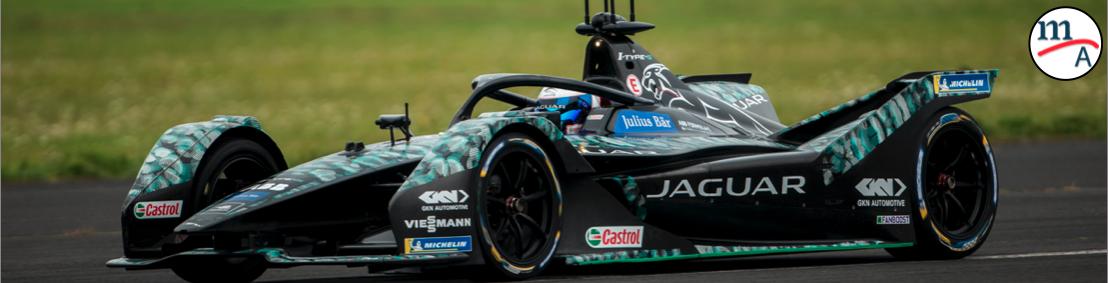Sam Bird hizo su primera prueba con Jaguar Racing