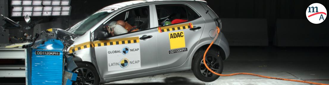 ¡Decepcionante! Kia Picanto cero estrellas: Latin NCAP