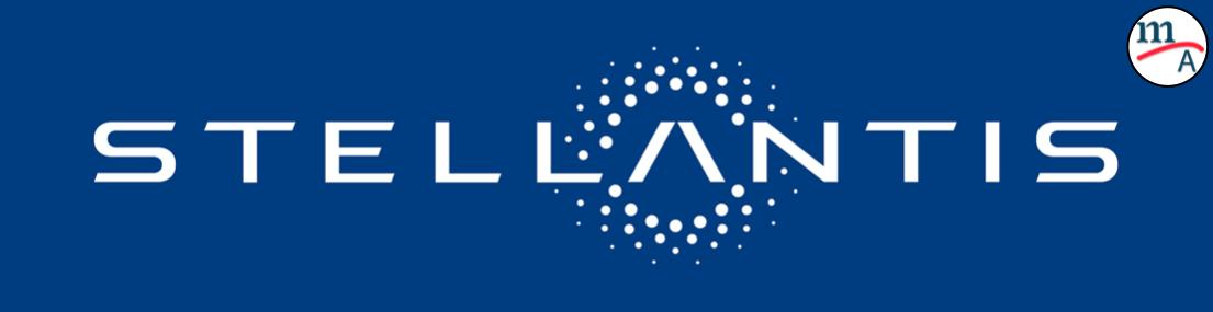 Grupo PSA y FCA presentaron hoy el logo de Stellantis