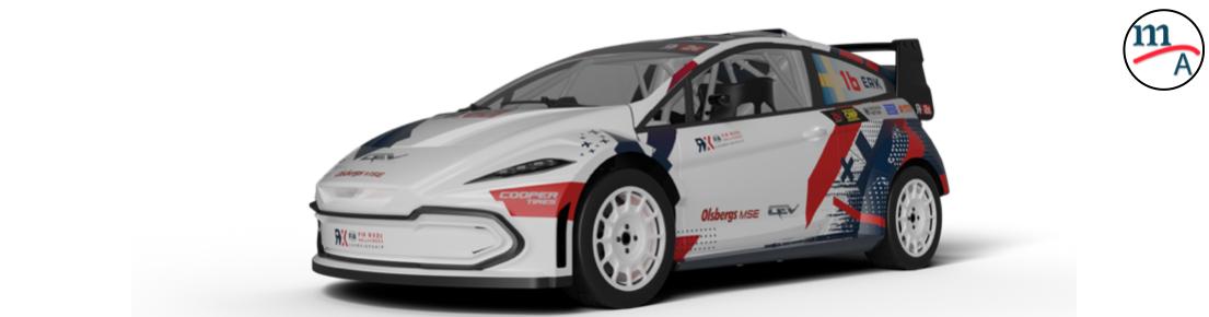 Este es el auto eléctrico del Campeonato FIA RX2e