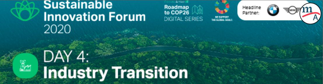 Foro de Innovación Sostenible, Día 4, Transición de la industria