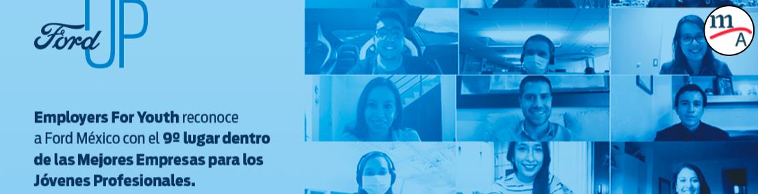 Ford México una de las mejores empresas para profesionistas jóvenes