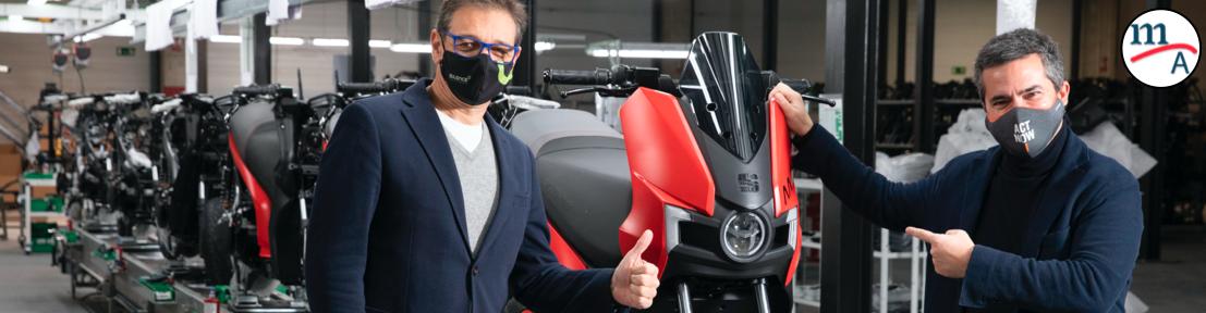 Arranca la producción de la primera moto eléctrica de SEAT