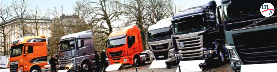 Camiones libres de combustibles fósiles para el 2040