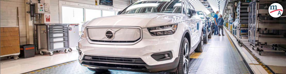 Volvo logró un récord histórico de ventas en el 2o semestre del 2020