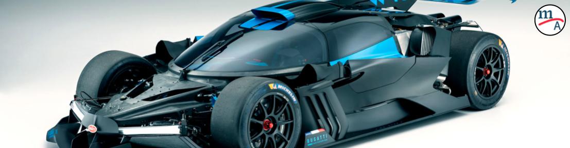Galería: Bugatti imprime componentes ultraligeros