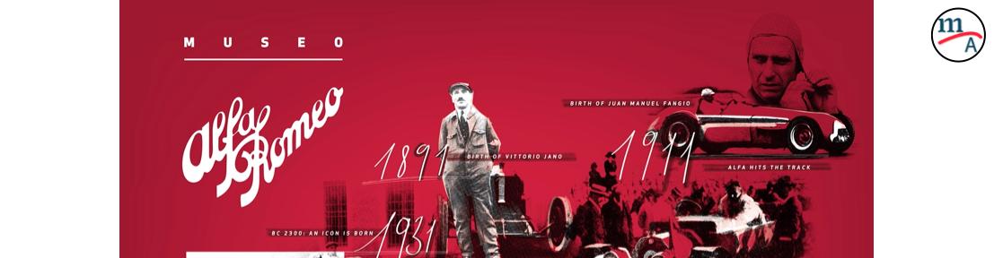 Un poco de la historia de 110 años de Alfa Romeo