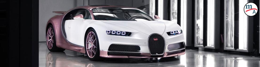 Inglés le regala un Bugatti Chiron Sport a su esposa