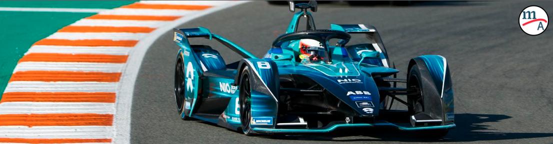 NIO 333 en busca de mejores resultados en la Fórmula E
