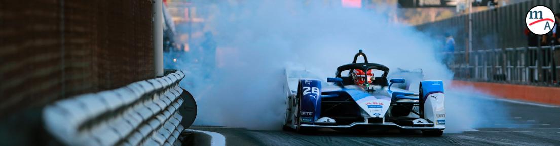 BMW i Andretti Motorsport previo al E-Prix de Diriyah
