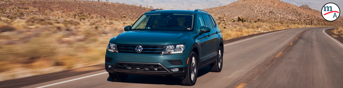 VW Tiguan nombrado TOP SAFETY PICK 2021