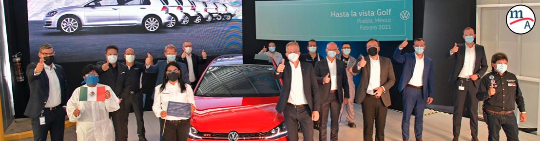 Volkswagen de México termina la producción del Golf