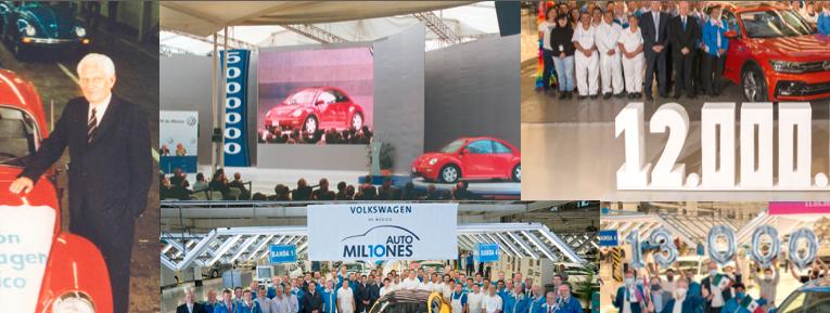 Galería: Los millones de autos producidos por VWM
