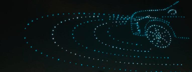 400 drones presentaron al Nissan Kicks en Brasil