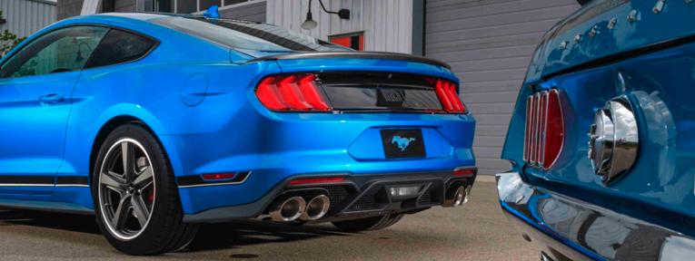Regresa una leyenda, Mustang Mach 1