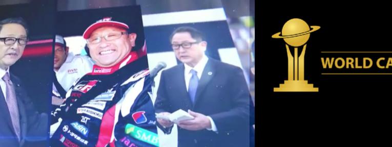 Akio Toyoda, personaje del año de los World Car Awards