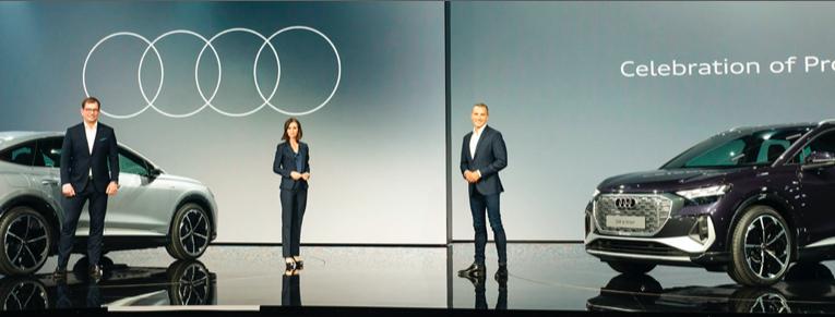 Audi Q4 e-tron y Q4 Sportback e-tron: Presentación mundial