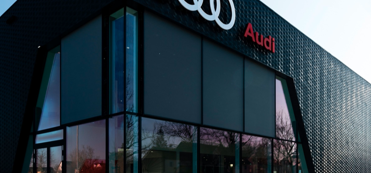 Audi Progressive Retail, nuevo diseño de Distribuidores