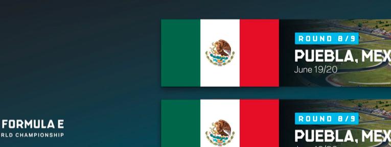 Los pilotos dan la bienvenida a Puebla a la Fórmula E