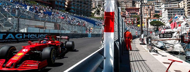 Ferrari los más rápidos en Mónaco