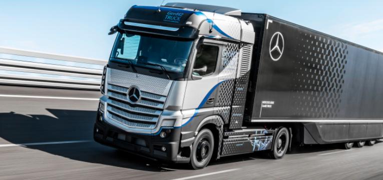 Daimler Trucks prueba a su camión de celda de combustible