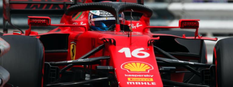 Primera pole de la temporada para Ferrari y Leclerc