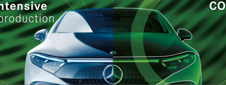 Mercedes-Benz utilizará acero verde en sus vehículos en 2025