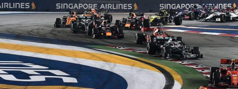 Cancelan el Gran Premio de Singapur 2021