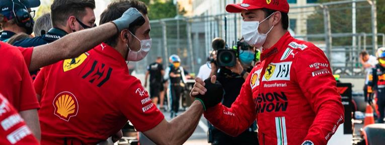 """""""Tomé las cosas paso a paso y solo presionar en la Q3"""", Leclerc"""