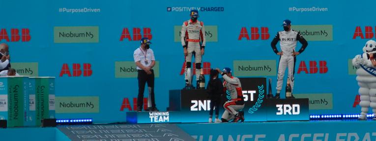 Di Grassi lidera el 1-2 de Audi tras la descalificación de Wehrlein en Puebla EPrix