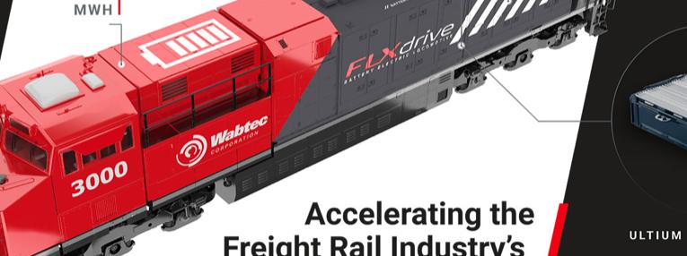 GM y Wabtec desarrollarán soluciones eléctricas para trenes