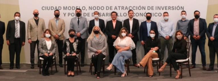 Audi y el Gobierno de Puebla por el desarrollo de Ciudad Modelo