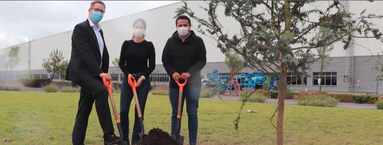 Audi México plantará 1,250 árboles en sus instalaciones