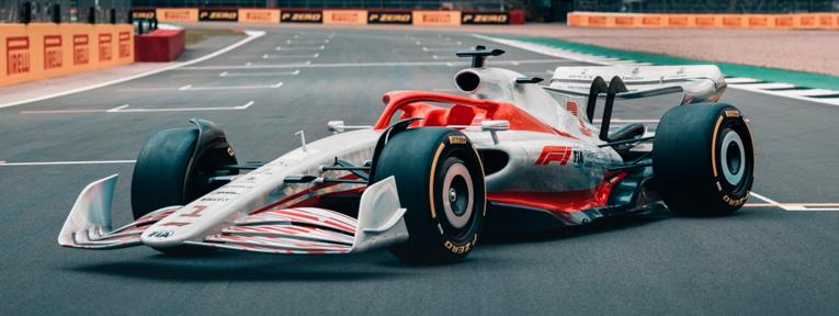 La F1 presentó al auto del campeonato 2022