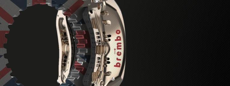 Silverstone exige poco a los frenos: Brembo