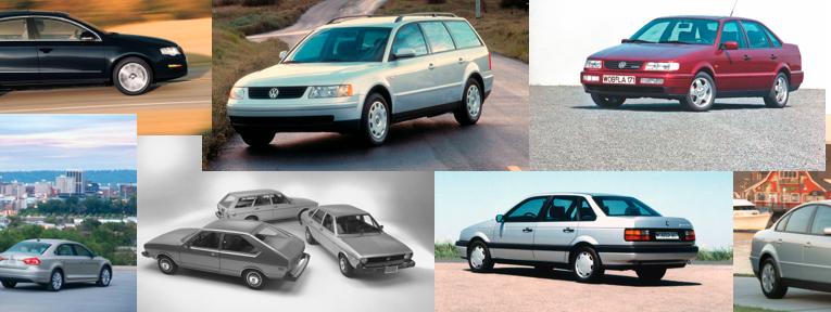Galería: VW Passat a través de los años