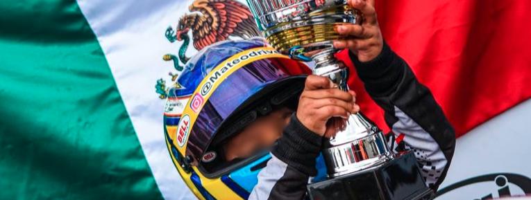 El Gran Premio de México tiene a su embajador mas joven