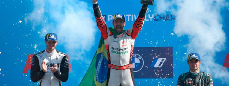 Lucas di Grassi gana la primera carrera en Berlín
