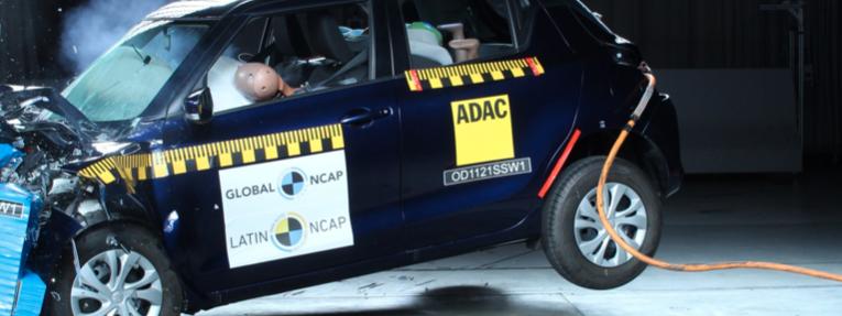 Video: Suzuki Swift, cero estrellas de seguridad